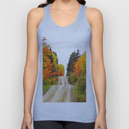 Nature's Secret Highway Unisex Tank Top