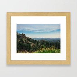 Black Hills National Forest 3 Framed Art Print