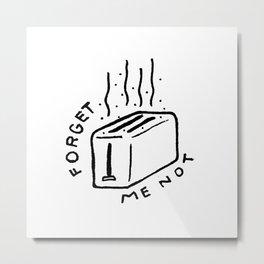 Forget Me Not Metal Print