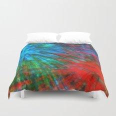 Abstract Big Bangs 001 Duvet Cover