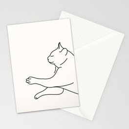 Sleeping Cat I Stationery Cards