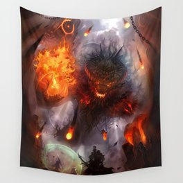To Hunt Gods Wall Tapestry