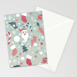 Festive Moments - Xmas Pattern Stationery Cards