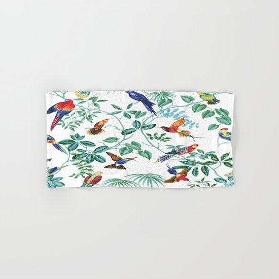 Jungle Birds II Hand & Bath Towel