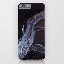 Ghost Shark-Inktober-Fish iPhone Case