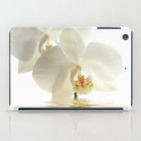 bath iPad Cases featuring Orchid in a bath by UtArt