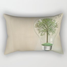 green ideas 02 Rectangular Pillow