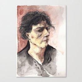 Portrait d'un jeune homme arrogant Canvas Print