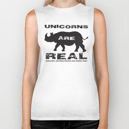 Unicorns Are Real Biker Tank