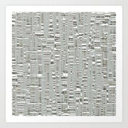 Texture az Birch Art Print