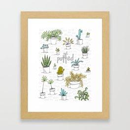 Get Potted Framed Art Print
