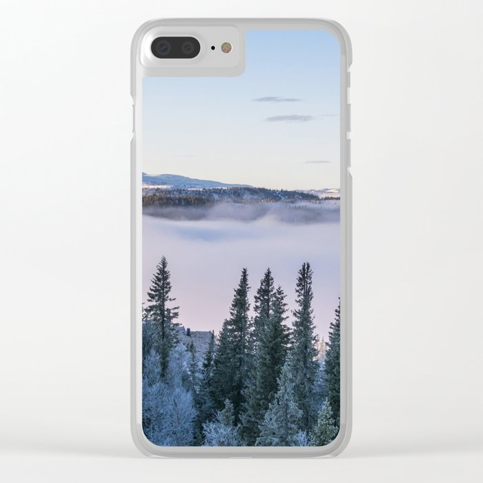 The forest in me Clear iPhone Case