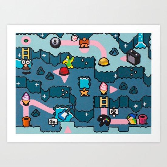 cave Art Print