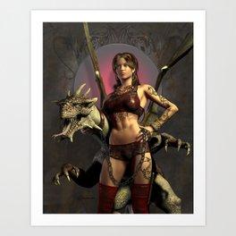 Dragon Trainer Art Print