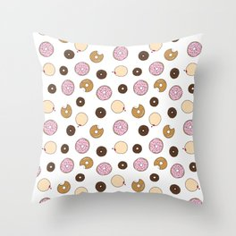 Donut Love Throw Pillow