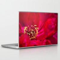 peony Laptop & iPad Skins featuring Peony by Christine Belanger