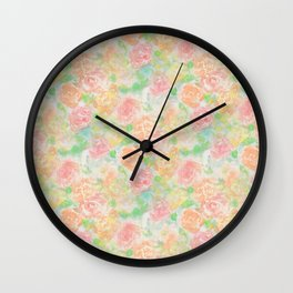 Forever Bouquet Wall Clock
