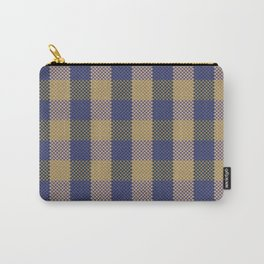 Pixel Plaid - Spring Thaw Carry-All Pouch