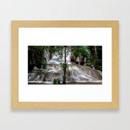 Sai Yok Noi Falls Framed Art Print