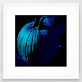 Midnight Pumpkin Framed Art Print