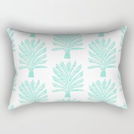 Palm Tree – Mint Palette Rectangular Pillow