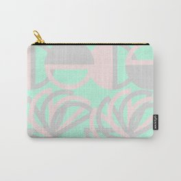 Flowers and circles Carry-All Pouch