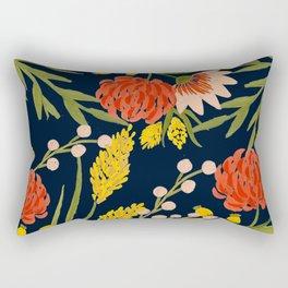 Chasing Colors Rectangular Pillow