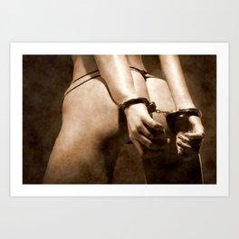 Submissive Art Print