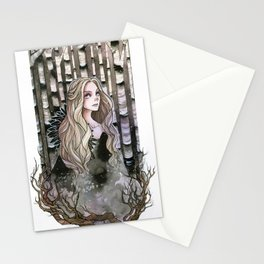 The Last Snow Stationery Cards