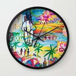 Pattaya in Thailand Wall Clock