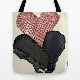Aliens in Love Tote Bag
