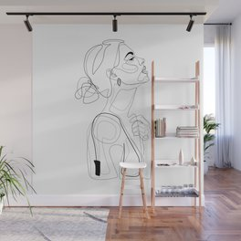 B Color Beauty Wall Mural