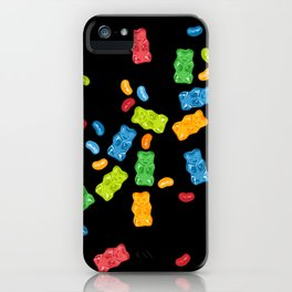 Jelly Beans & Gummy Bears Explosion iPhone Case