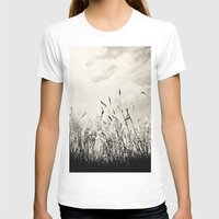 grass T-shirts featuring Grass by Angela Fanton