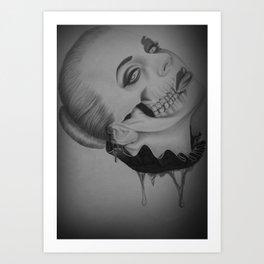 Devines zombies #2 Art Print