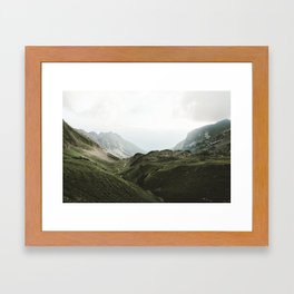 Beam Landscape Photography Framed Art Print