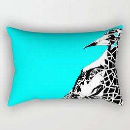 Minty Magpie Rectangular Pillow