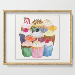 Cupcake Cluster Serving Tray