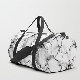 Sketch of Orchids Duffle Bag