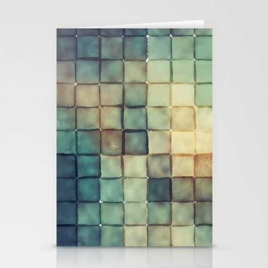 Polaroid Pixels III (Chain) Stationery Cards