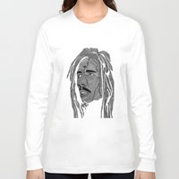 marley Long Sleeve T-shirts featuring Fourrester4 meets Marley by Fourrester4