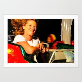 Fly-By Smile at the Fair Art Print