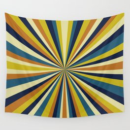 Pinpoint Rays Wall Tapestry