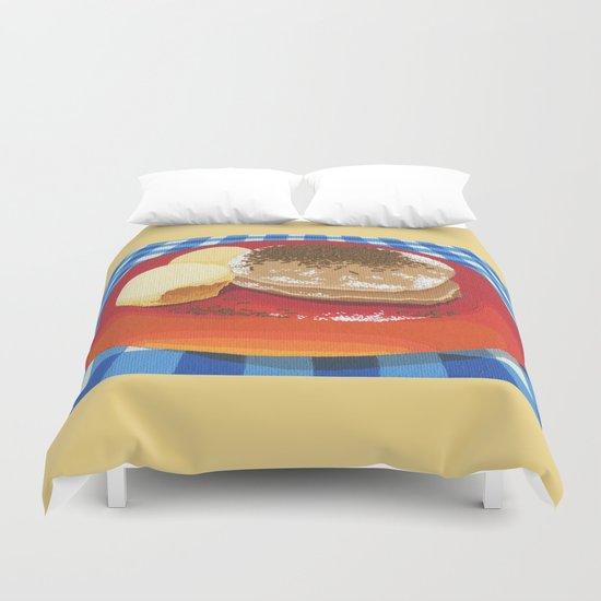 Pancakes Week 15 Duvet Cover