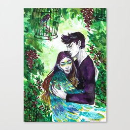 In Your Arms Canvas Print