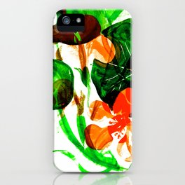 Indian Cress (vivid mix) iPhone Case