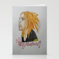 tim shumate Stationery Cards featuring Tim Minchin. by TheArtOfFaithAsylum