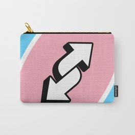 Trans reverse Carry-All Pouch
