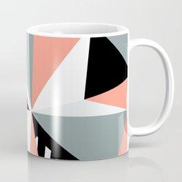 Modern Geometric 45 Pink Coffee Mug