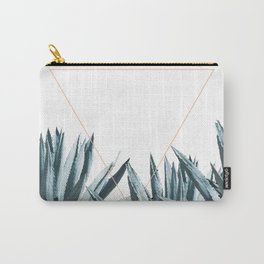 Agave Triangle Carry-All Pouch